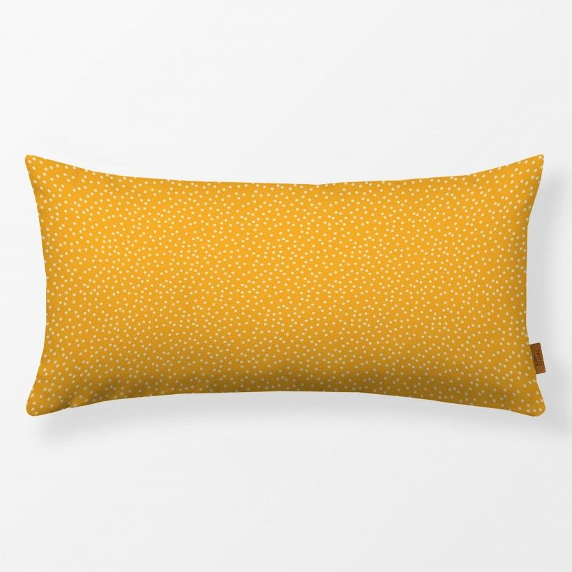 Kissen Dots Yellow