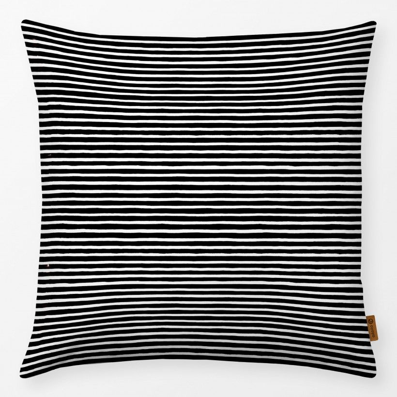 Kissen Marker Stripes Black