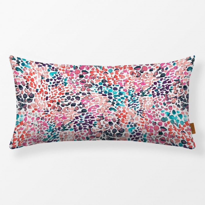 Kissen Speckled Watercolor Pink