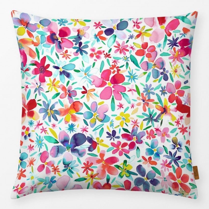 Kissen Colorful Flowers and Petals