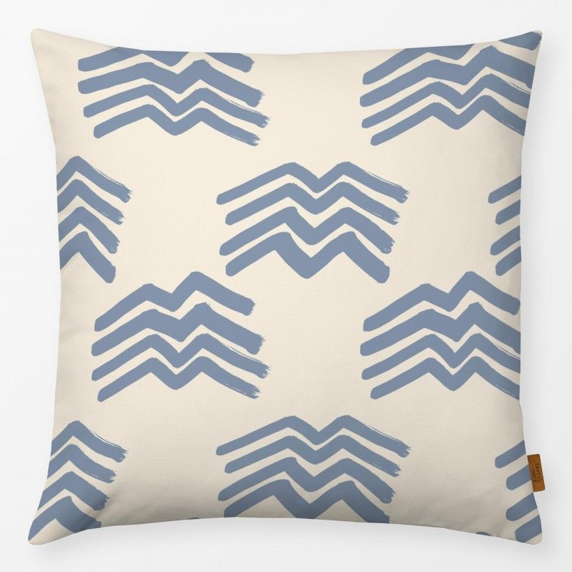 Kissen Boho Mountains Serenity on Cream